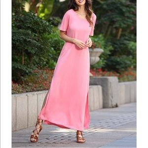 Pink Maxi Dress (with pockets)